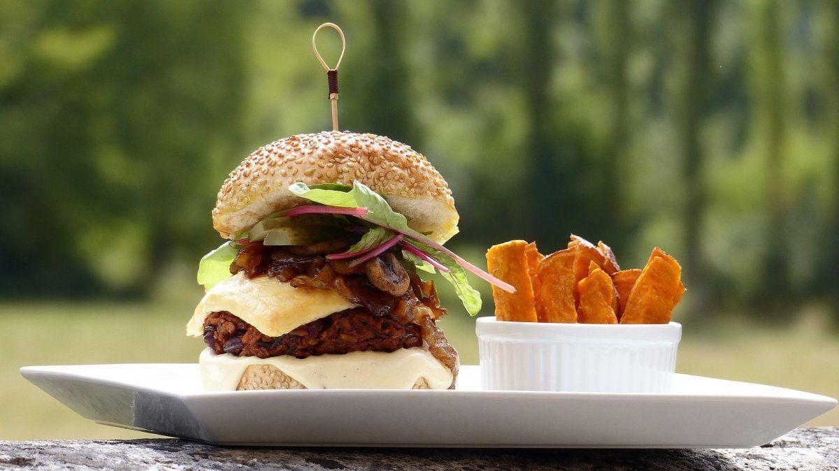 Las hamburguesas vegetarianas son un hit en San Francisco.