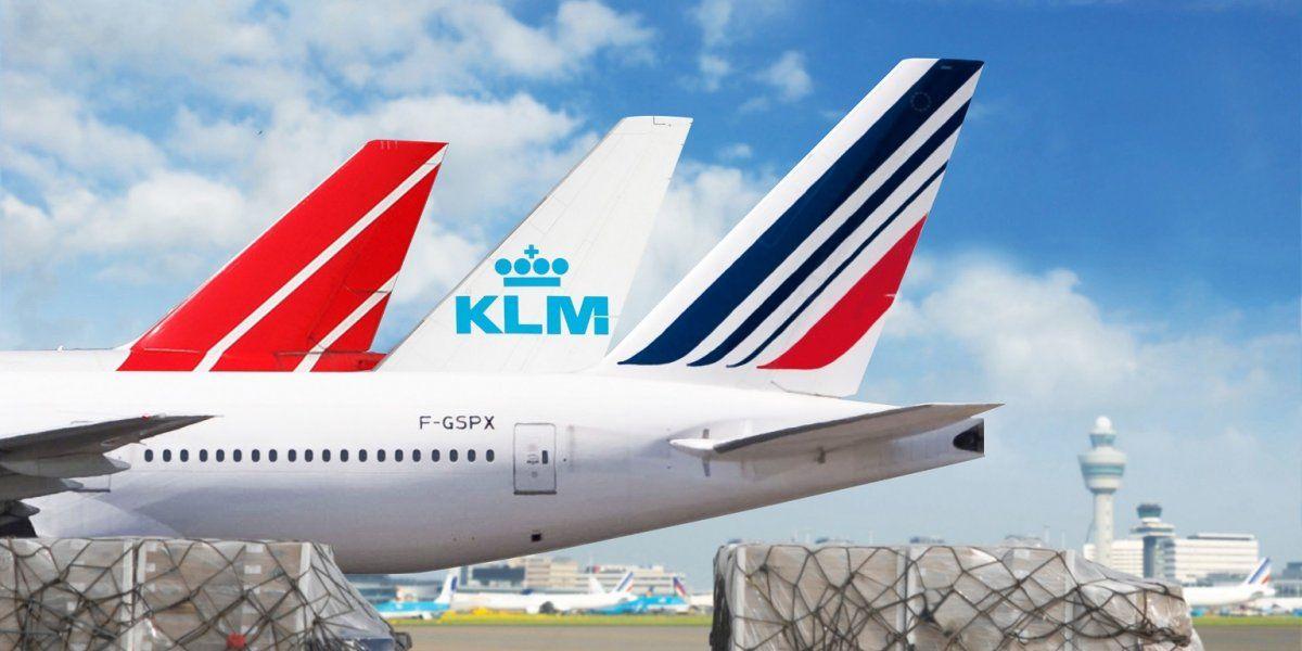 Air France-KLM ocupó el primer puesto de la industria del transporte aéreo.
