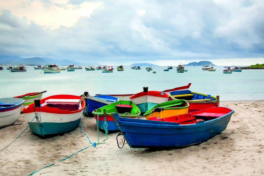 El litoral de Santa Catarina también tiene playas tranquilas