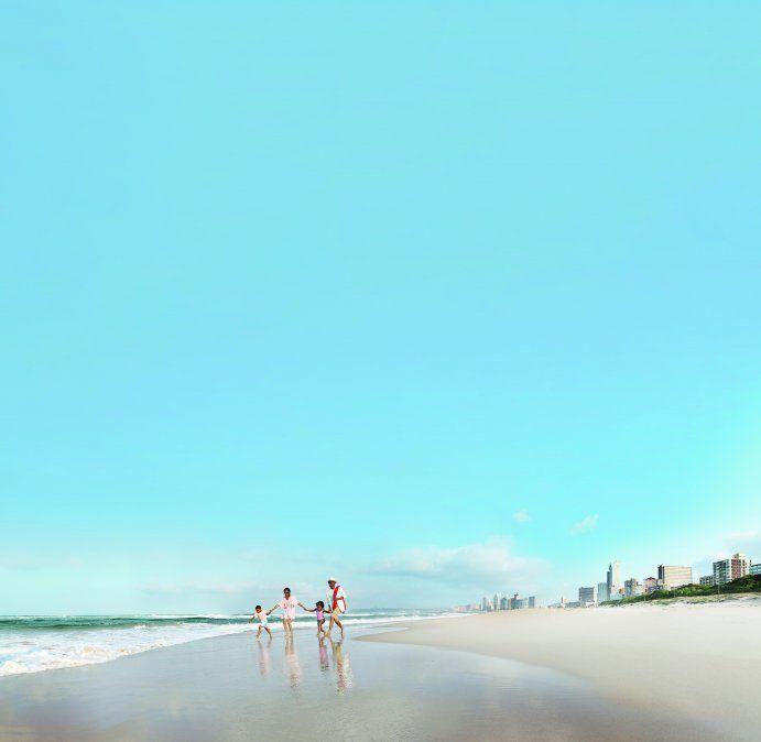 Sudáfrica atesora playas como las de Durban