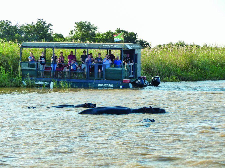 En Sudáfrica es posible combinar playas con safaris.