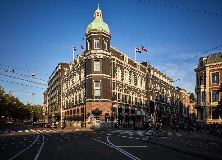 Historia y distinción en el centro de Amsterdam.