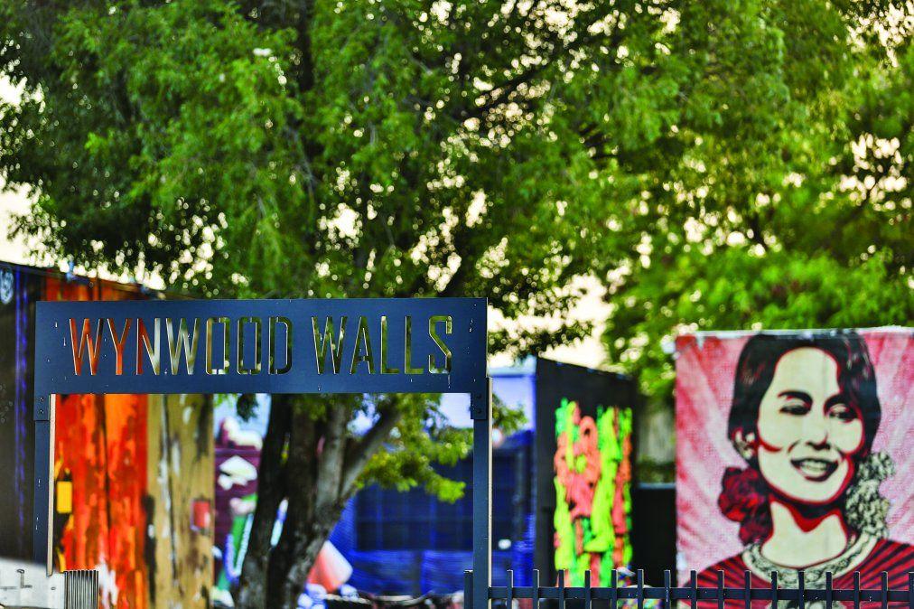 En Wynwood el arte vive en los murales de sus calles.