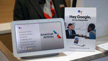 American Airlines: Google Assistant servirá de intérprete para los pasajeros