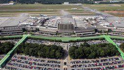 El Aeropuerto Internacional de San Pablo-Guarulhos.