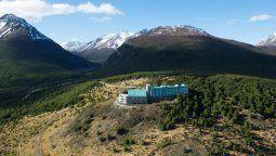 Uno de los refugios donde disfrutar de una estadía segura: el Hotel Arakur, en la Patagonia argentina.