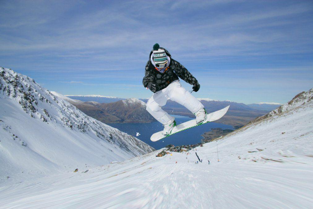El Mt. Hutt cuenta con la temporada de esquí más extensa de Nueva Zelanda