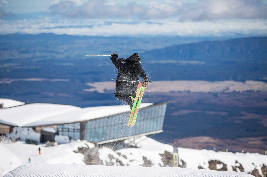 Whakapapa es el área del esquí más grande de Nueva Zelanda