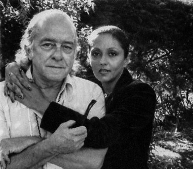 María Creuza y Vinícius de Moraes en los inicios de su trabajo en parceria.
