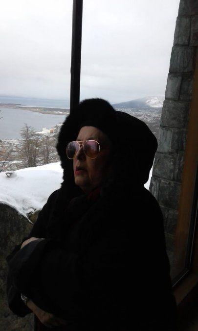 María Creuza compartió la experiencia de hacer un show en la ciudad del Fin del Mundo