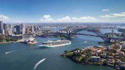 El Norwegian Spirit en Sydney.