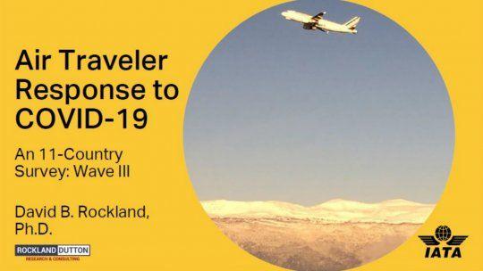 IATA: ¿cuándo volverán a viajar los usuarios?