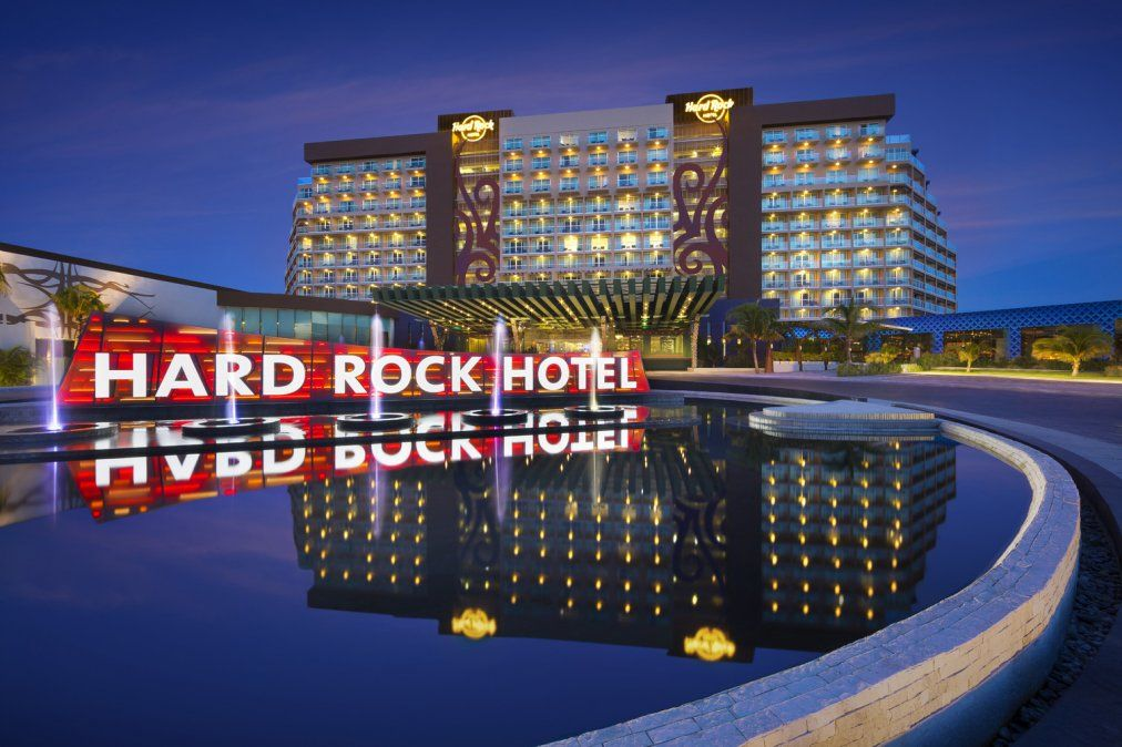 El Hard Rock Hotel de Cancún.