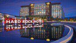 El Hard Rock Hotel de Cancún.