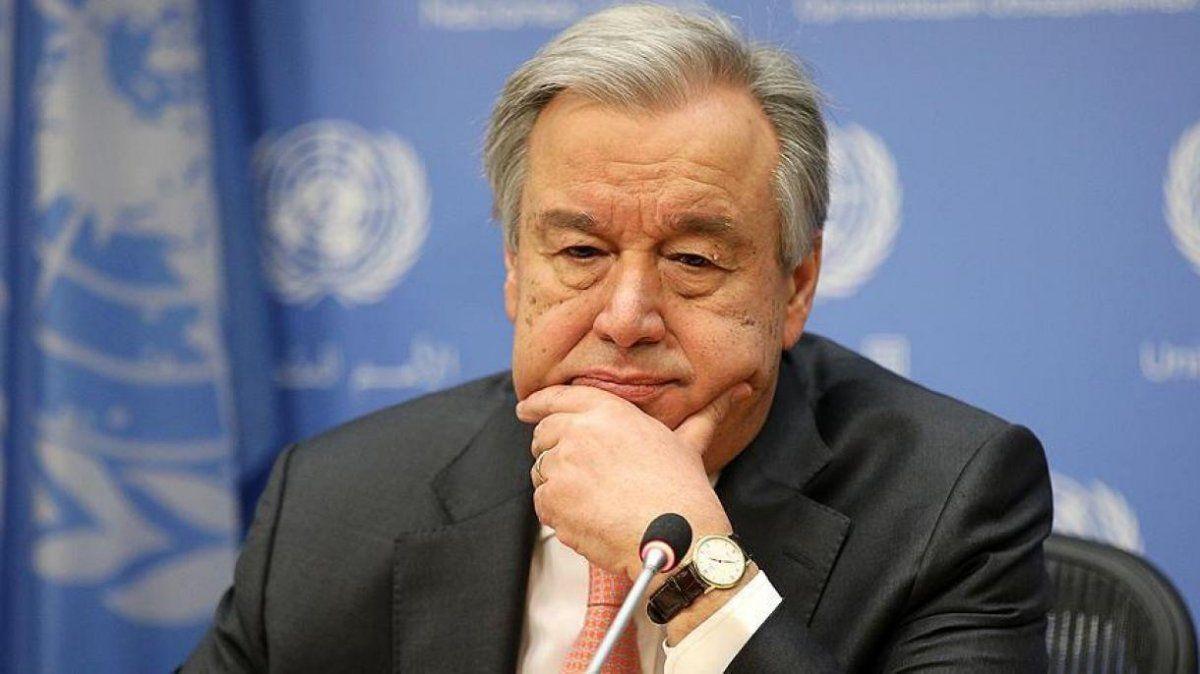 El secretario general de las Naciones Unidas (ONU)