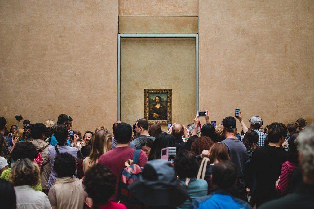 Imágen del pasado. Pese a la reapertura de fronteras las visitas al Louvre cayeron un 75% en julio