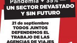 Faevyt encabezará marcha nacional de los agentes de viajes al Banco Central, el 21 de septiembre.
