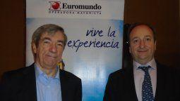 Luis García y Francisco Román en imagen de archivo.