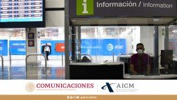 Imagen del aeropuerto capitalino.