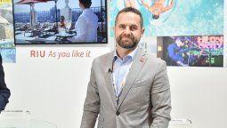 Javier Monje, director de Ventas de RIU en el Caribe mexicano.
