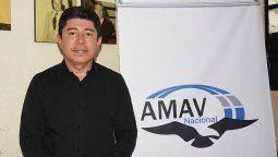 Eduardo Paniagua, presidente de la AMAV nacional.