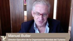 Manuel Butler, director ejecutivo de la OMT.
