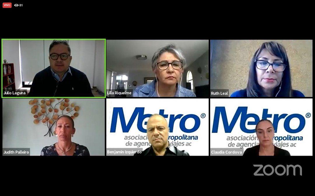 Directivos de navieras en México participaron en la asamblea mensual de la Metro.