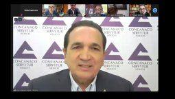 Reunión de Concanaco-Servytur con el secretario de Hacienda.