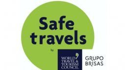 grupo brisas. sello de viaje seguro de wttc