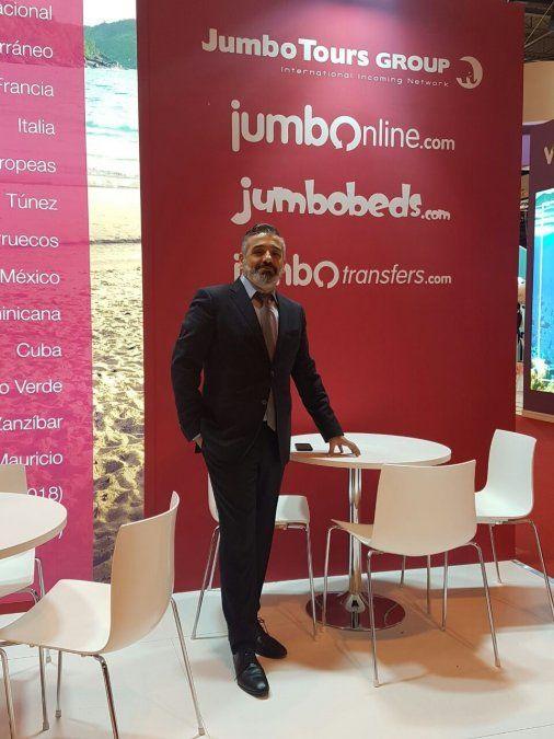 Gabriel Fiol, director de Desarrollo de Negocio para las Américas de Jumbo Tours.