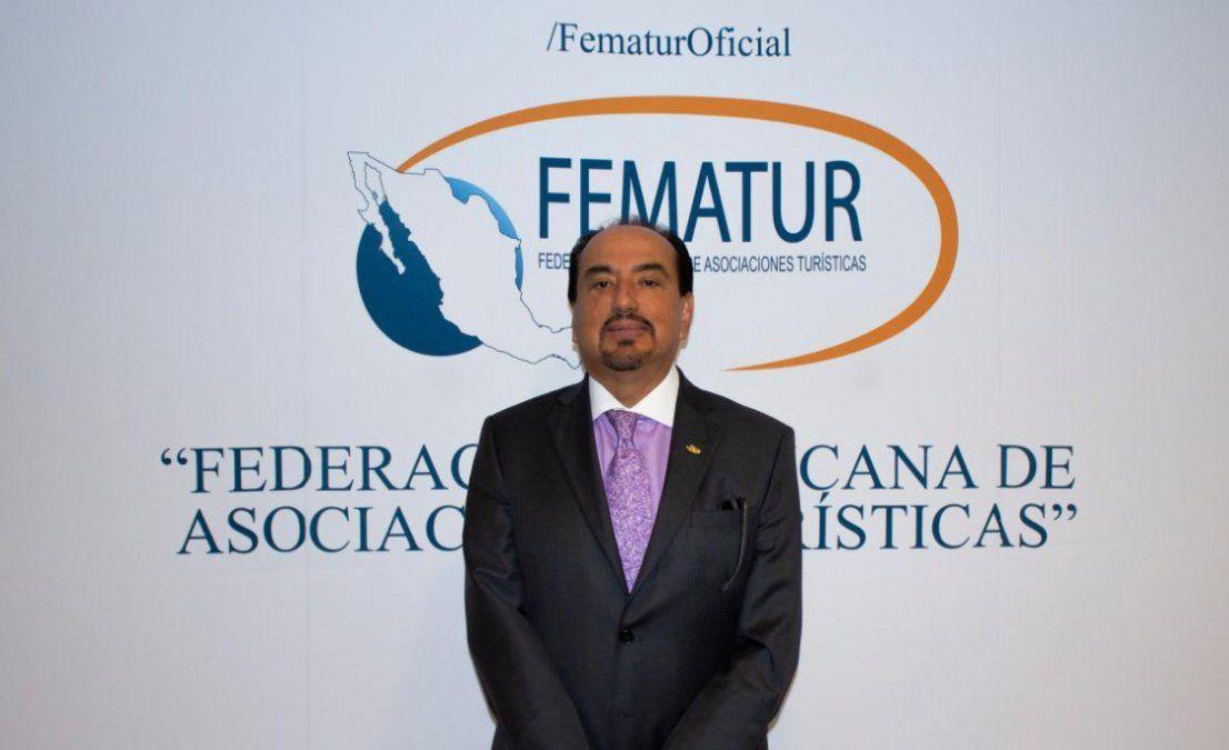 Jorge Hernández, presidente de Fematur.