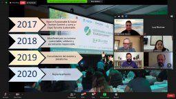 Conferencia de prensa para anunciar el Encuentro Virtual.