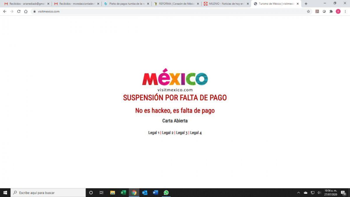 Tecnocen.com publicó una carta abierta en la plataforma de Visit México