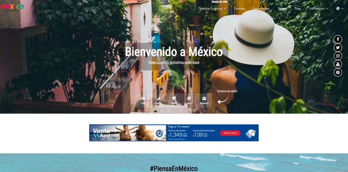 Visit México ya funciona con normalidad