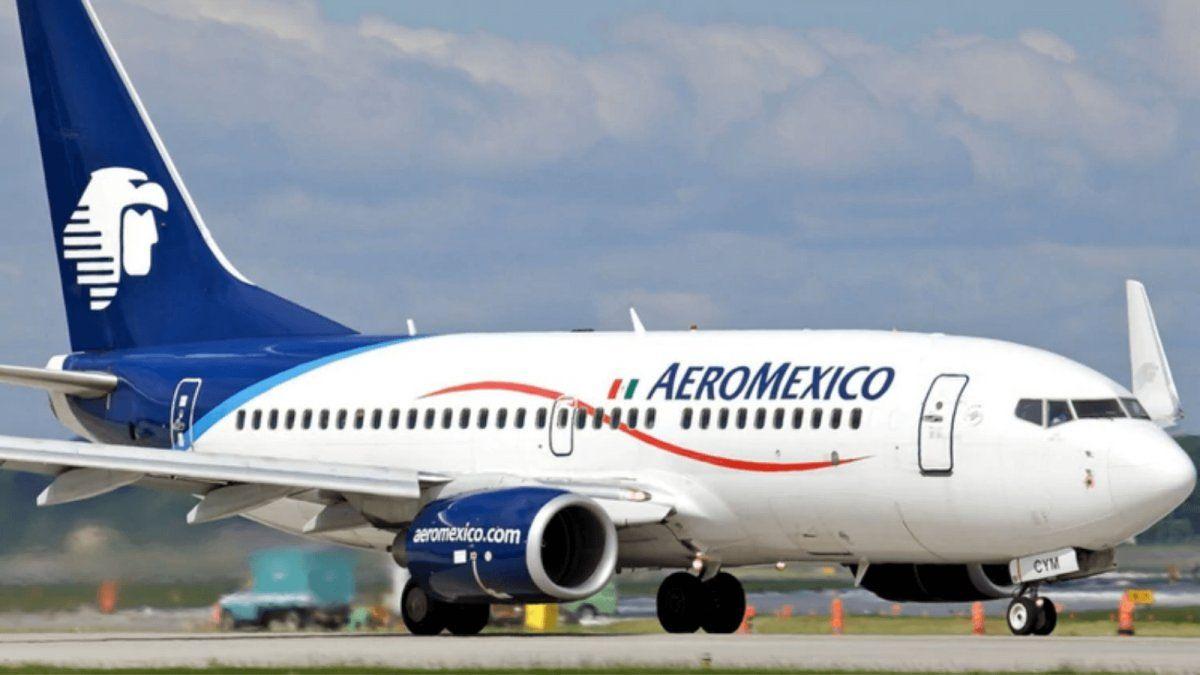 AEROMÉXICO. Incremento de operaciones en agosto