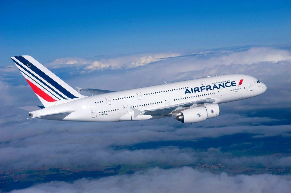 Air France: plena confianza para reservar un viaje.