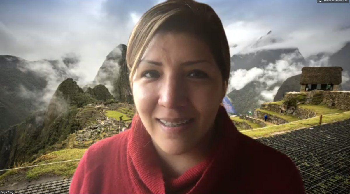 Angie Clavijo, gerenta general del Hotel Sumaq Machu Picchu.