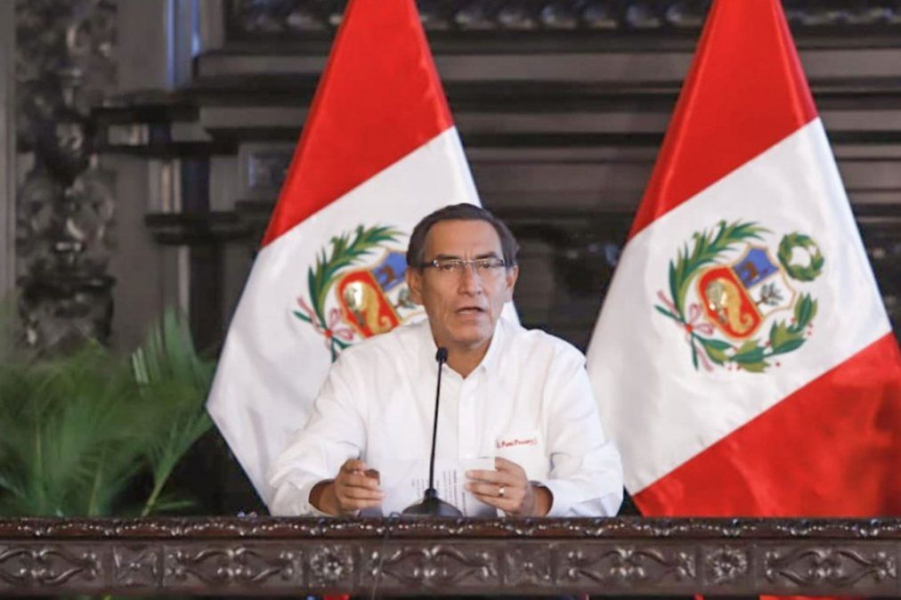 Presidente anunció plan Reactiva Perú