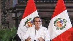 Presidente Vizcarra anunció plan de reinicio de actividades.
