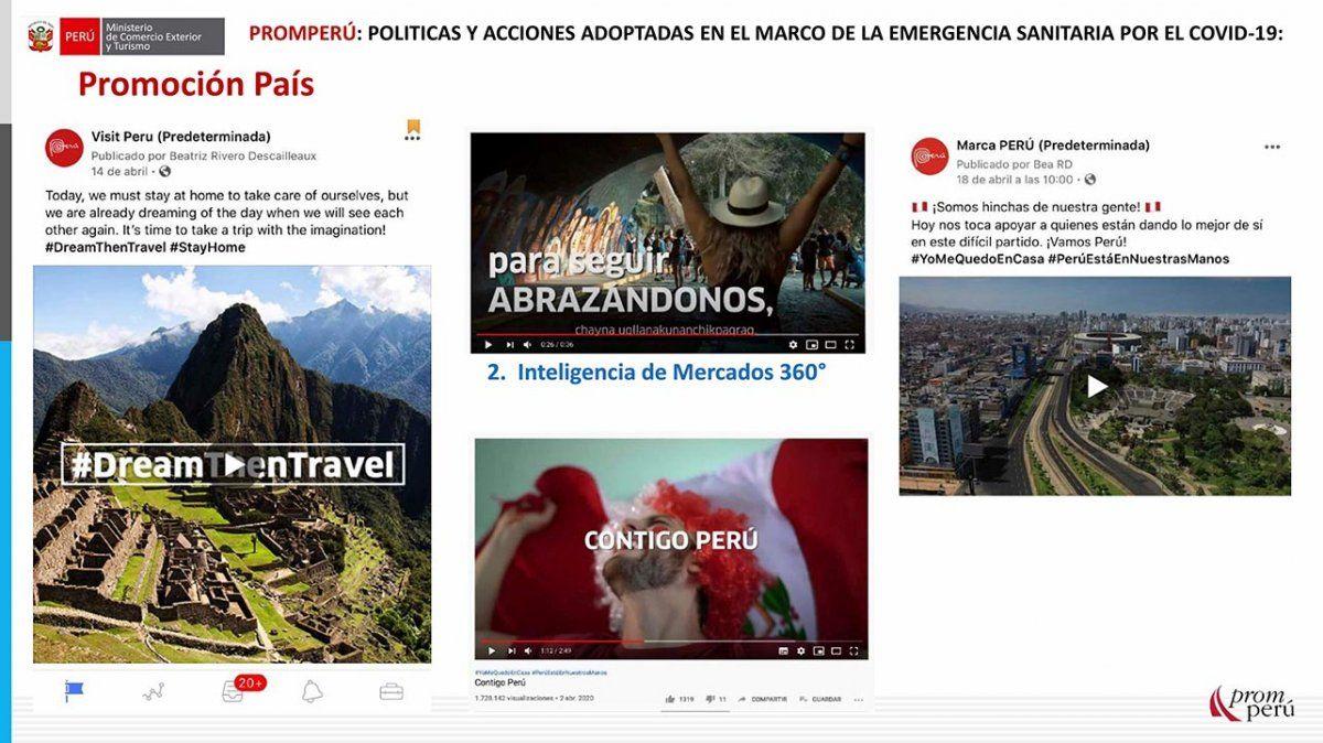 La campaña de Promperú para la promoción del país se resume en el video