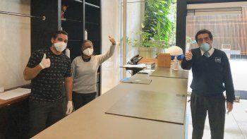 MELIÁ. La cadena presentó su protocolo de seguridad sanitaria