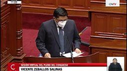 El premier Zeballos expuso las medidas que se están tomando para el sector turismo.
