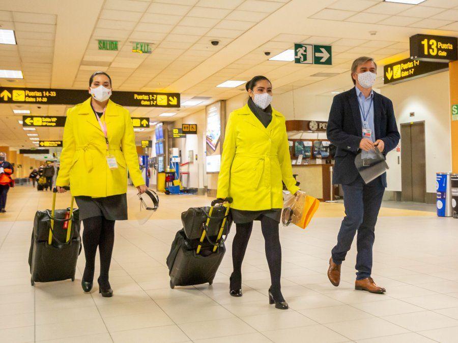 Viva Air sigue protocolos de seguridad