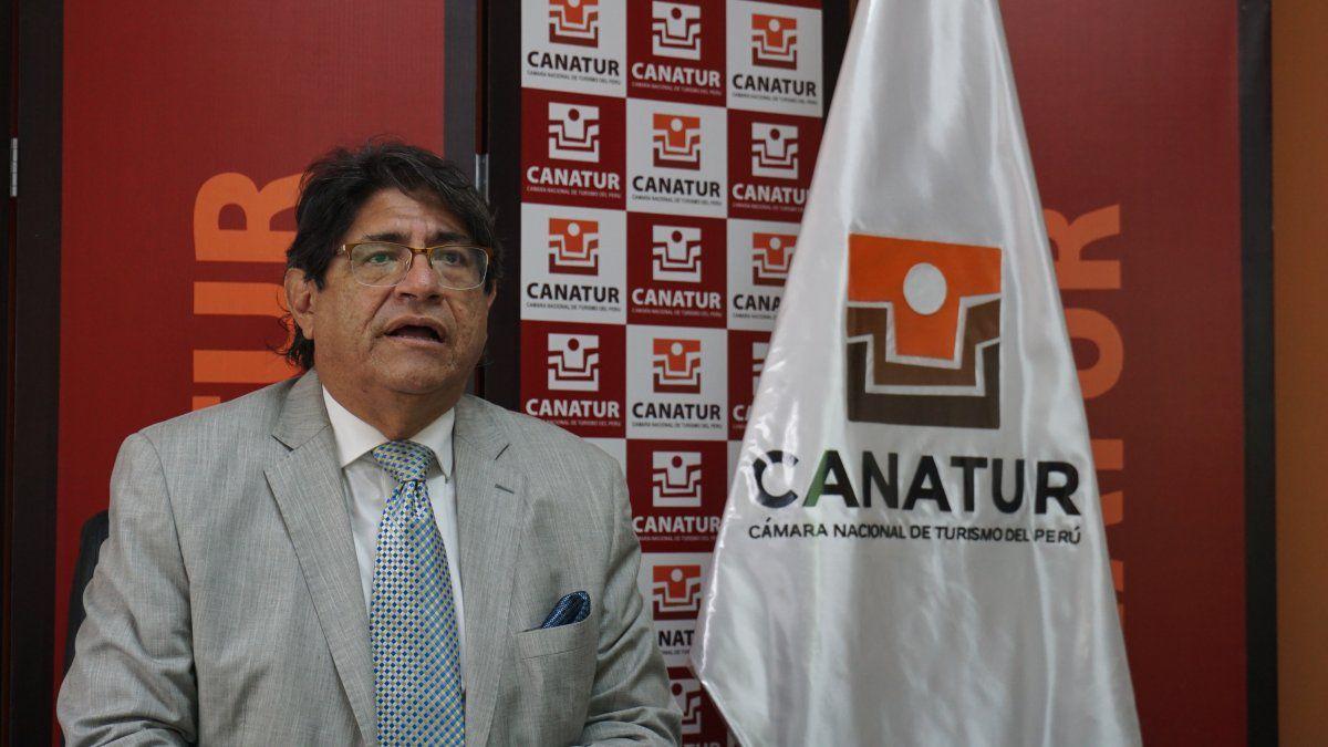Carlos Canales, presidente de Canatur