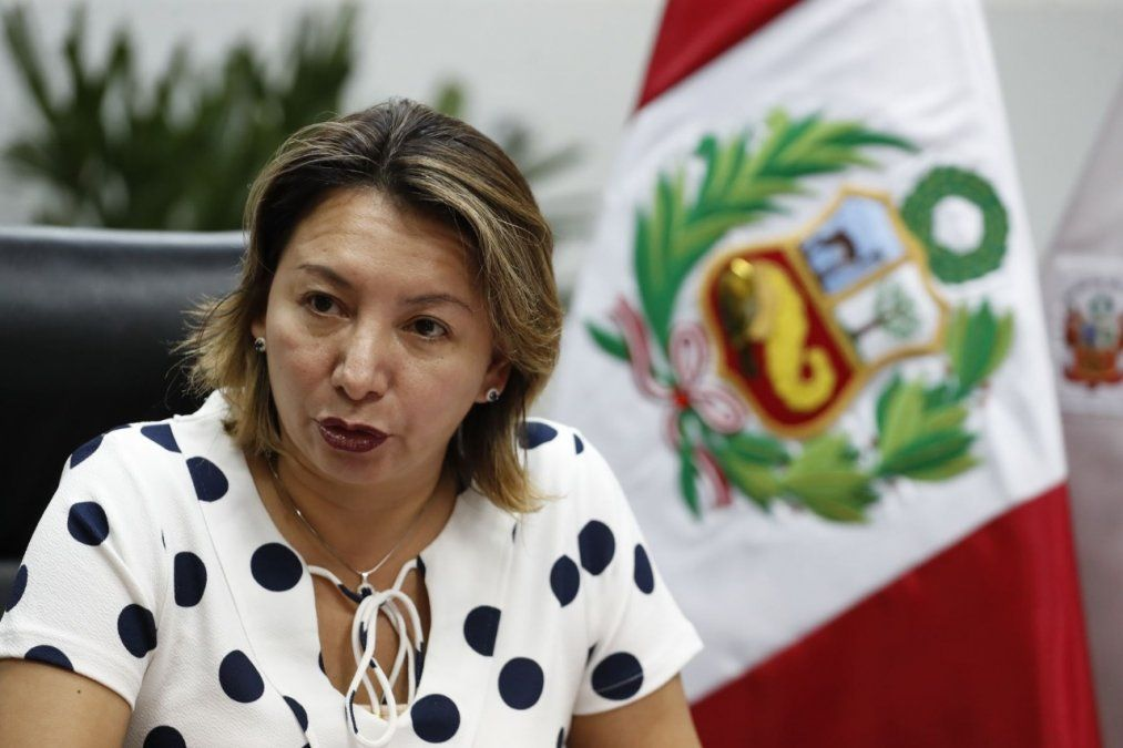 Rocío Barrios, titular del Mincetur