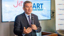 Estuardo Ortiz, CEO de JetSmart.
