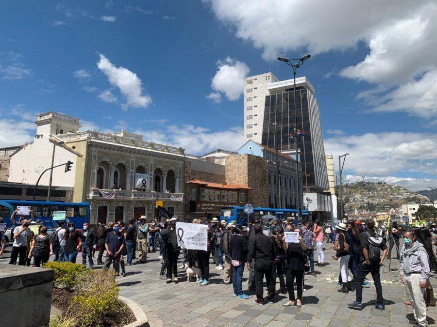 Protesta Turismo Ecuador