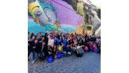 masiva conmemoracion de los 500 anos de la habana en valparaiso