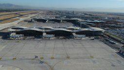 reubicacion de estacionamientos para transportes en el aeropuerto scl