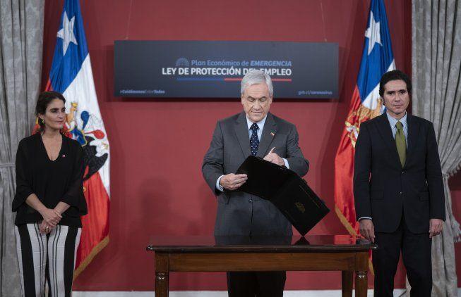 Esta es la segunda modificación a la Ley de Protección al Empleo, la cual fue promulgada en abril por el Presidente Piñera.